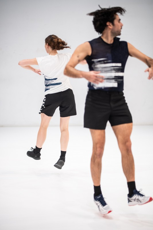 Dansvoorstelling Tremble in Theater Rotterdam